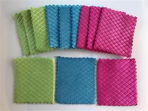 Microfiber Waffled Sponge Cloths